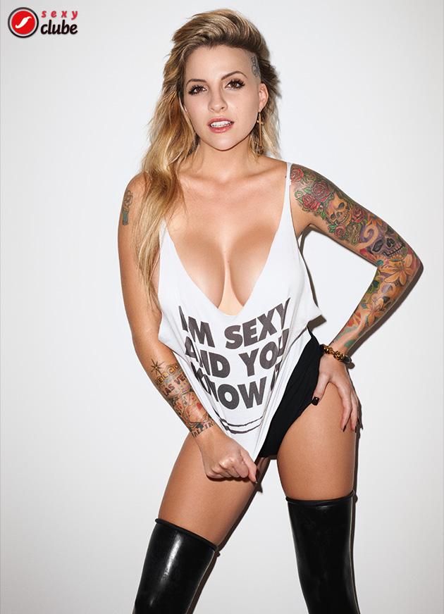 Clara Aguilar - Revista SEXY de novembro de 2014