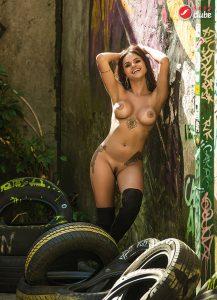 Mylah Rocha - Revista SEXY de março de 2016