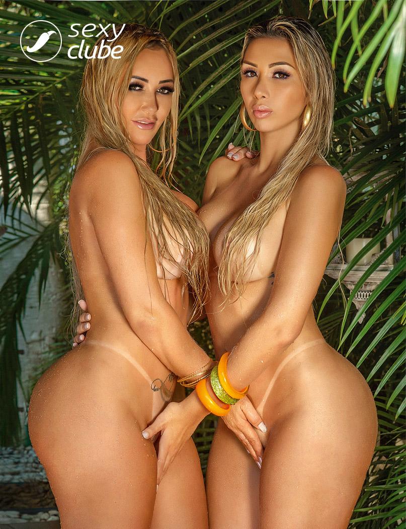 Bruna Ferraz e Eduarda Moraes - Revista SEXY - Dezembro de 2016
