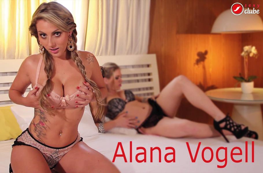 Alana Vogell e Danny Pimentinha - Sexy Girls - Sexy Clube