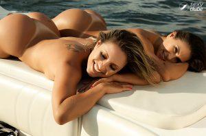 Fernanda Brum e Camila Remedy - Sexy Girls - Sexy Clube