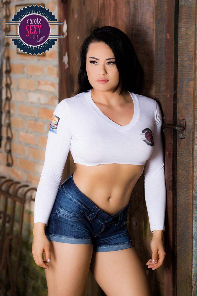 Marina Shizue - Concurso Garota Sexy Clube