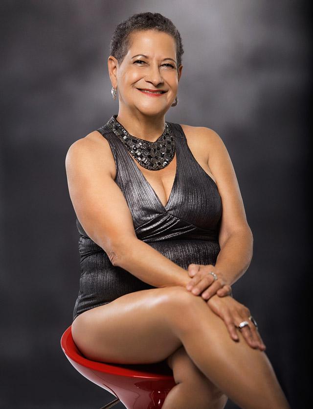 Geralda Diniz - Matéria - Revista Sexy