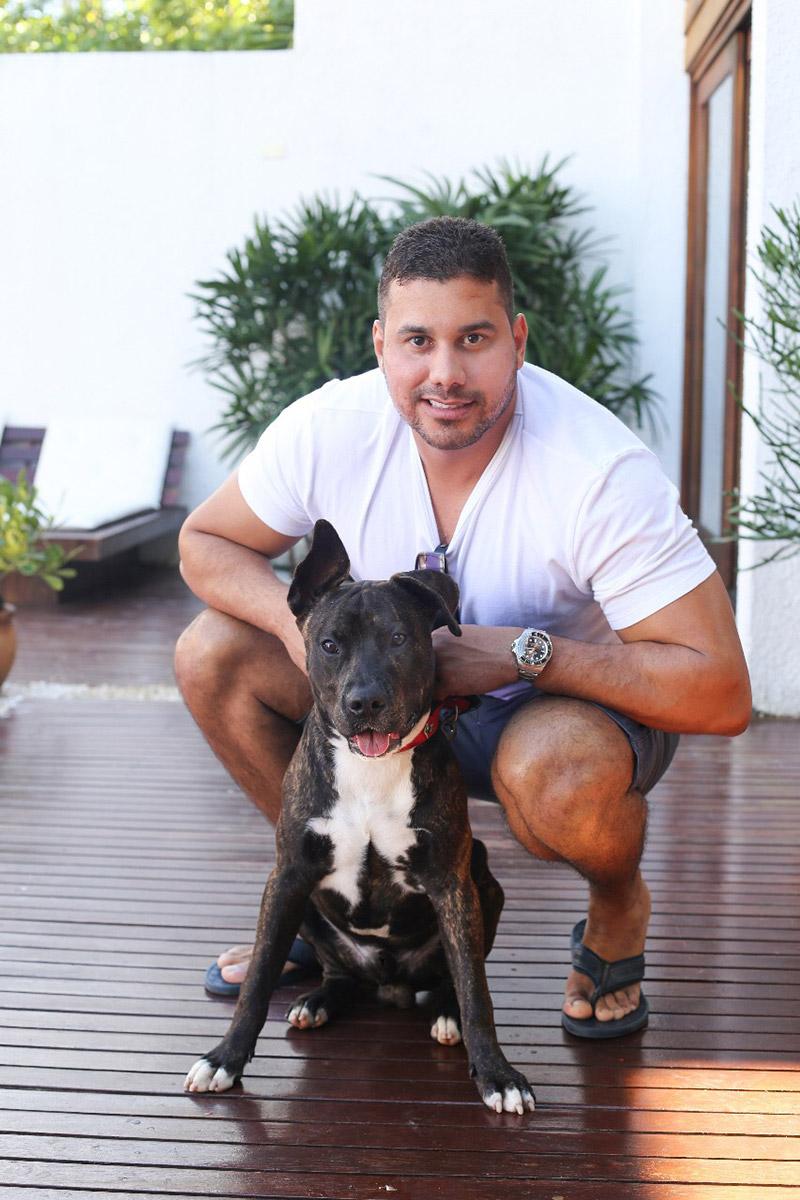 Leandro Souza - Matéria - Revista Sexy