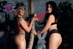 Rafaeli Paz e Thais Nardi - Concurso Garota Sexy Clube