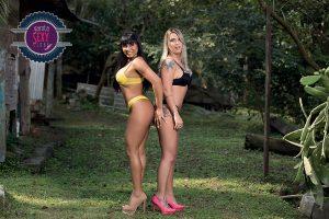 Cássia Mello e Angel - Concurso Garota Sexy Clube 2017