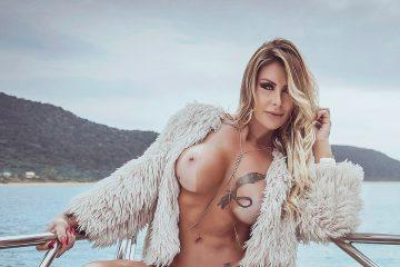 Luciane Hoepers - Revista SEXY de agosto de 2017 - fotos e Vídeos Grátis