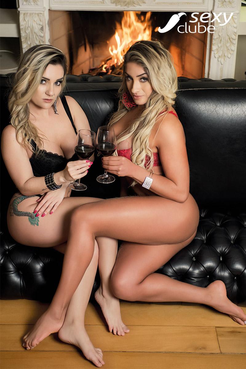 Taise Florence e Lilian Lyrio - Revista SEXY de agosto de 2017 - Vídeo Grátis