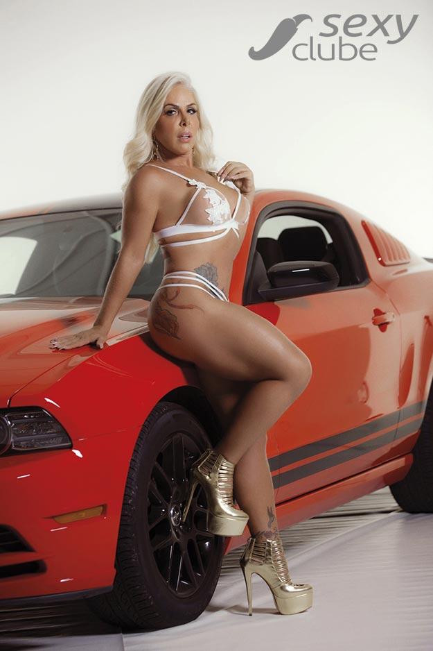 Rosana Menezes - Revista SEXY
