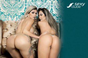 Jéssica Cristy e Elga Shitara - Revista SEXY de Janeiro de 2018