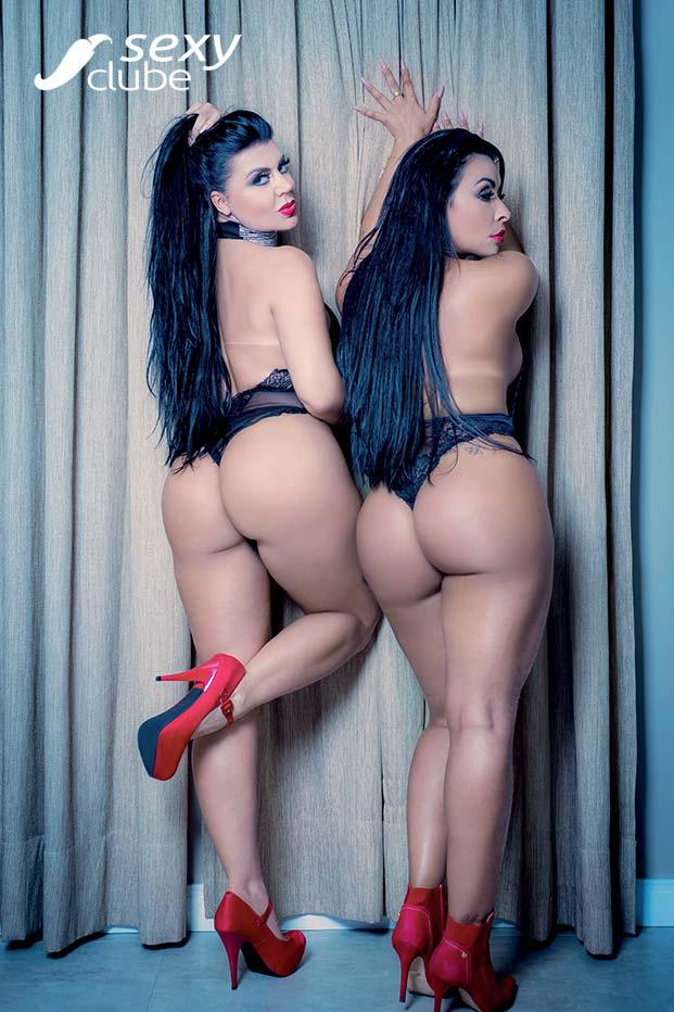 Luizza Meirelles e Tatiana Ribeiro - Sexy Girls - Sexy Clube