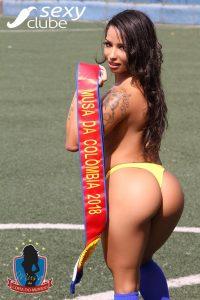 Musa da Colômbia 2018 – Eláh Bittencourt - Musa da Copa do Mundo - Sexy Clube
