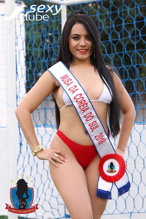 Musa da Coréia do Sul 2018 – Yasmin Albuquerque - Musa da Copa do Mundo - Sexy Clube