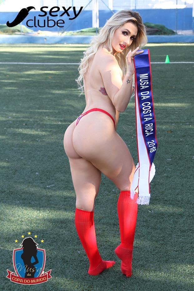 Musa da Costa Rica 2018 – Francielly Bertolucci - Musa da Copa do Mundo - Sexy Clube