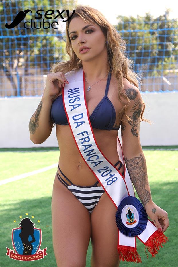 Musa da França 2018 – Júlia Menezes - Musa da Copa do Mundo - Sexy Clube