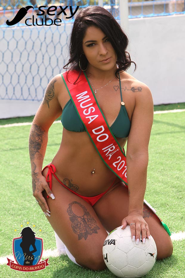 Musa do Irã 2018 – Layse Policarpo - Musa da Copa do Brasil - Sexy Clube