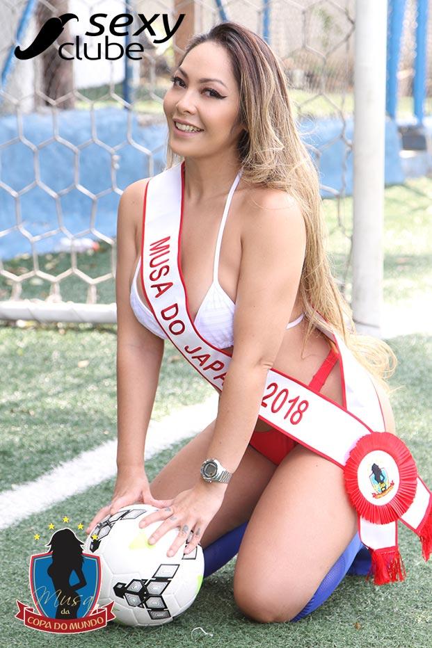 Musa do Japão 2018 – Elga Shitara - Musa da Copa do Mundo - Sexy Clube