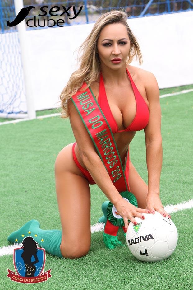 Musa do Marrocos 2018 – Sol Nascimento - Musa da Copa do Mundo - Sexy Clube