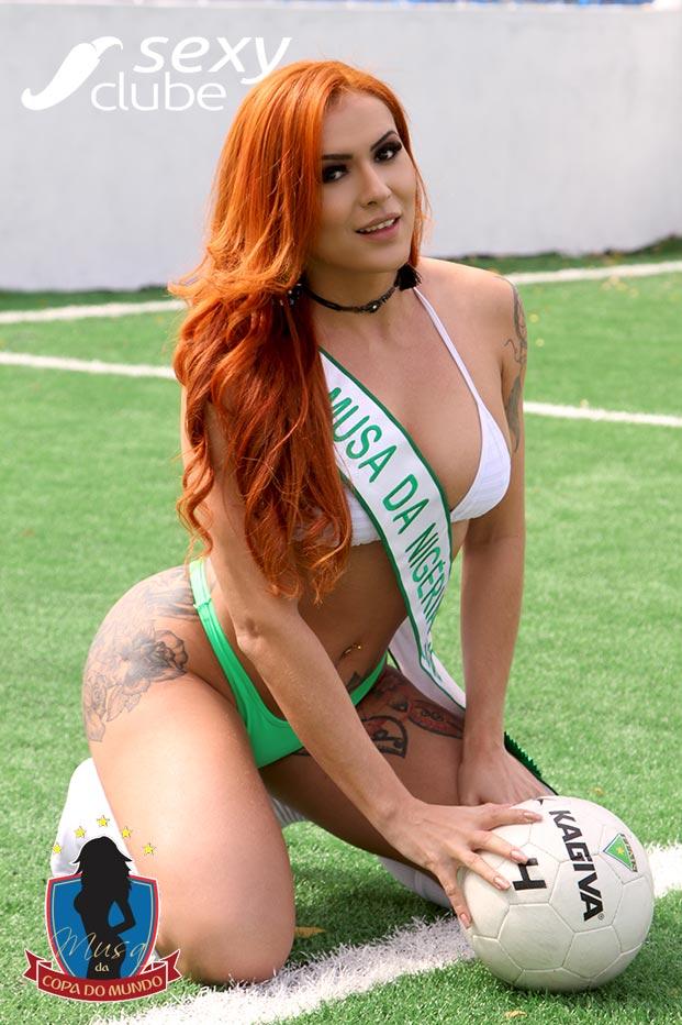Musa da Nigéria 2018 – Janne Ferreira - Musa da Copa do Mundo - Sexy Clube