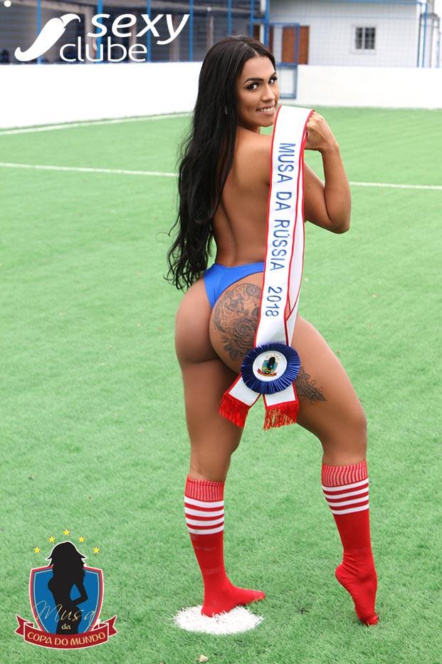 Musa da Rússia 2018 – Thaina Del Rei - Musa da Copa do Mundo - Sexy Clube