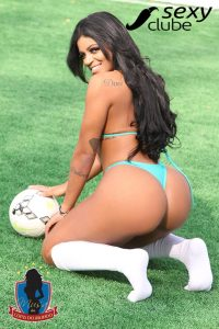 Musa do Senegal 2018 – Stephanie Silveira - Musa da Copa do Mundo - Sexy Clube