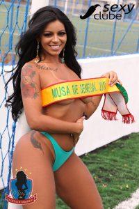 Musa do Senegal 2018 – Stephanie Silveira - Musa da Copa do Mundo - Sexy Clube