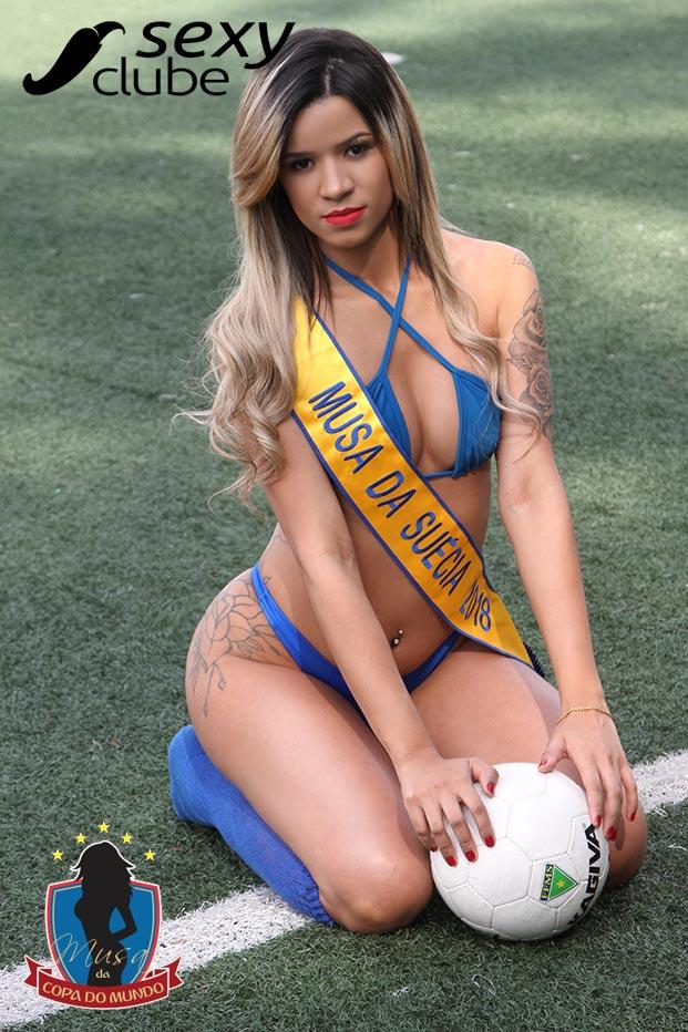 Musa da Suécia 2018 – Leeh Senna - Musa da Copa do Mundo - Sexy Clube