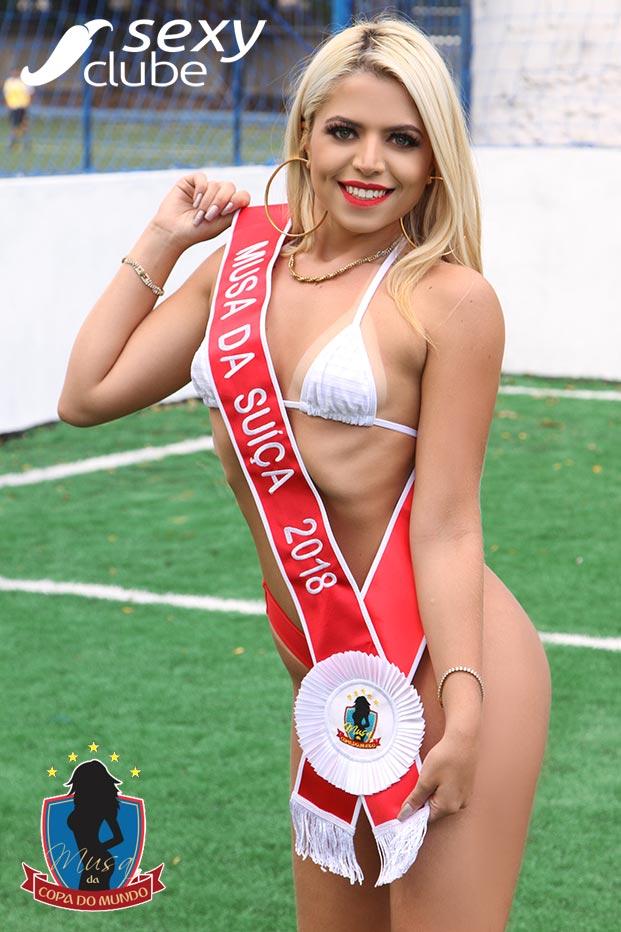 Musa da Suíça 2018 – Flávia Tamayo - Musa da Cppa do Mundo - Sexy Clube