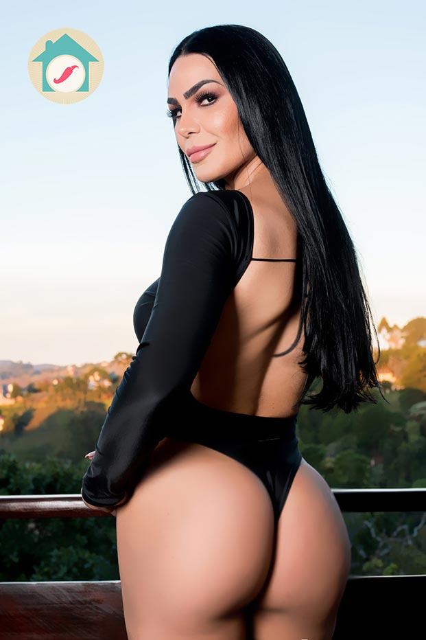 Casa das Pimentinhas 2 - Aline Castro - Sexy Clube