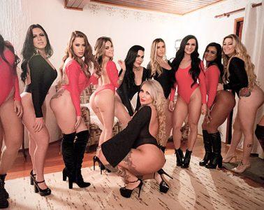 Casa das Pimentinhas - Prova da Mímica - Sexy Clube