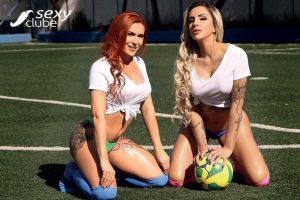 Luanda Fraga e Janne Ferreira - Revista SEXY de Julho 2018