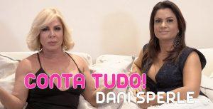 Dani Sperle conta tudo no Fala Rô - Sexy Clube