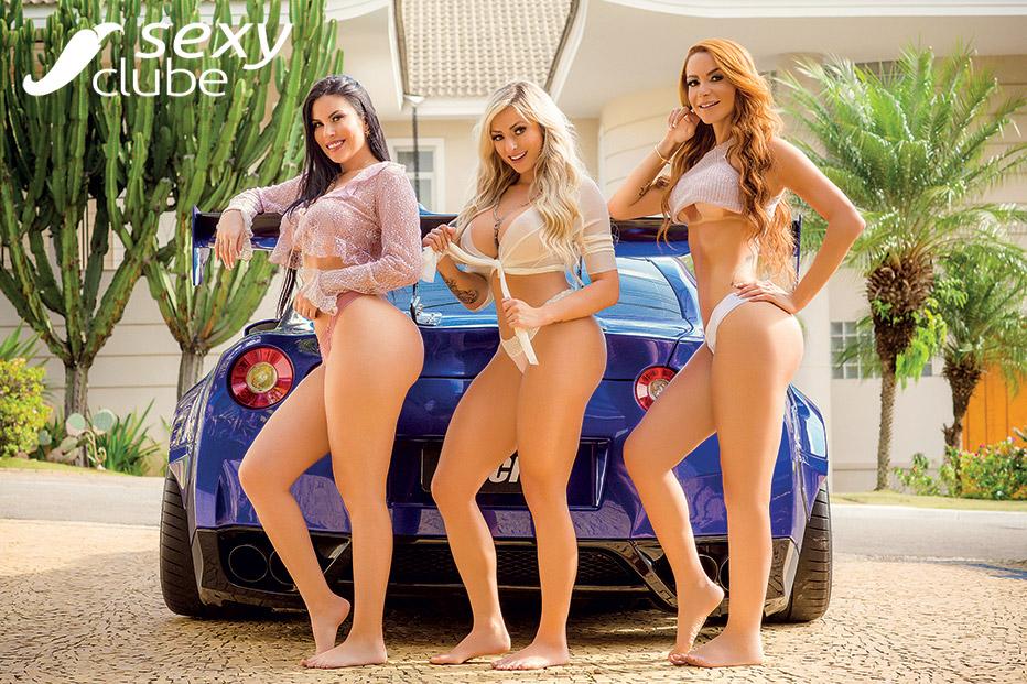 Jéssica Amaral, Jaqueline Marques e Karla Lima - Revista Sexy Novembro 2018- Revista SEXY