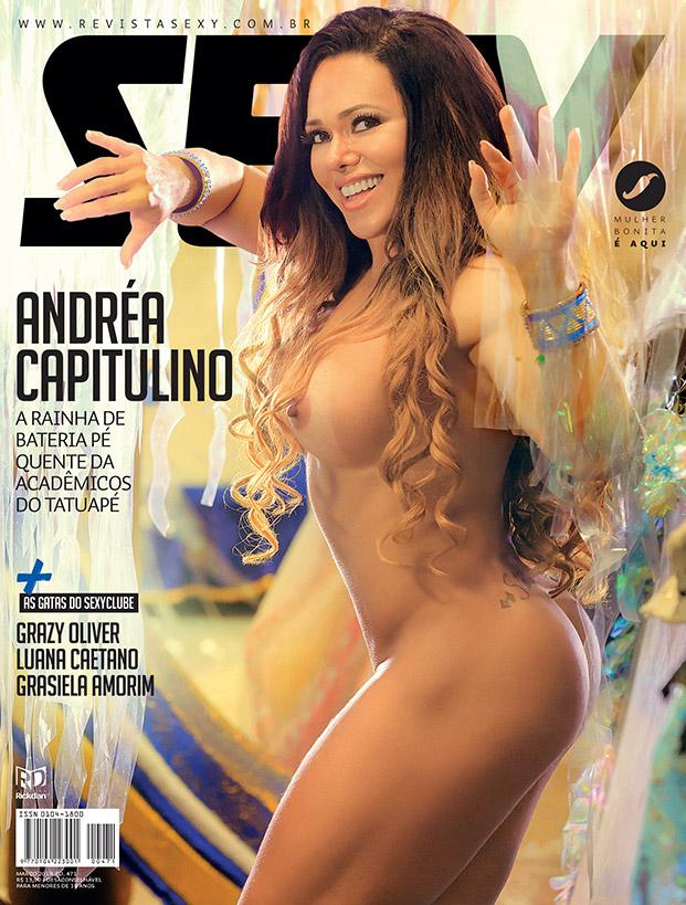 Andréa Capitulino - Revista SEXY março de 2019