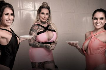 Casa das Pimentinhas 3 - Prova da Torta na Cara - Sexy Clube