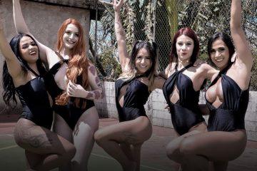 Casa das Pimentinhas 3 - Prova do Carrinho de Mão - Sexy Clube