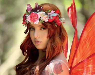 Laysa Fairy Red - Revista Sexy - Março 2021 - Sexy Clube